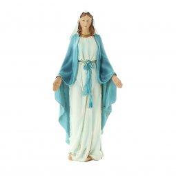 """Copertina di 'Statua in resina colorata """"Immacolata"""" - altezza 15 cm'"""