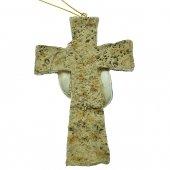 Immagine di 'Croce con Sacra Famiglia 11 cm.'