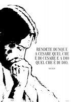 """Immagine di 'T-shirt """"Rendete dunque a Cesare..."""" (Mt 22,21) - Taglia L - UOMO'"""
