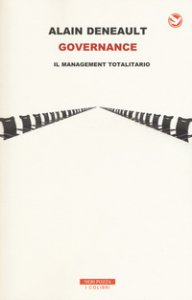 Copertina di 'Governance. Il management totalitario'