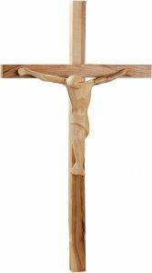 Copertina di 'Crocifisso in legno d'ulivo scolpito a mano'