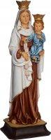 """Statua in resina colorata """"Madonna del Carmine"""" - altezza 20 cm"""