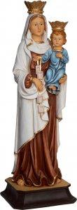 """Copertina di 'Statua in resina colorata """"Madonna del Carmine"""" - altezza 20 cm'"""