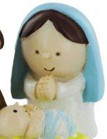 Immagine di 'Presepe per Bambini: Natività in resina - 3,5 cm'