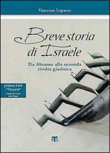 """Copertina di 'Breve storia d'Israele + dvd """"Dio parla""""'"""