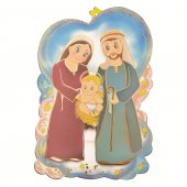 Quadretto sagomato con preghiera al Bambino Gesù - Linea bimbi