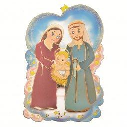 Copertina di 'Quadretto sagomato con preghiera al Bambino Gesù - Linea bimbi'