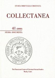 Copertina di 'Collectanea 41-2008. Studia-Documenta'