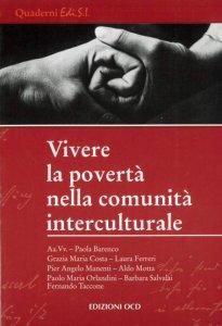 Copertina di 'Vivere la povertà nella comunità interculturale'