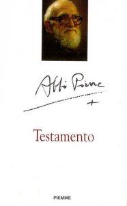 Copertina di 'Testamento'