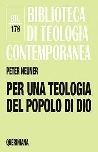 Copertina di 'Per una teologia del popolo di Dio'