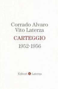 Copertina di 'Carteggio 1952-1956'
