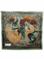 """Immagine di 'Arazzo """"Sacra Famiglia con palma"""" - dimensioni 65x65 cm'"""
