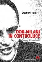 Don Milani in controluce - Rubetti Valentino