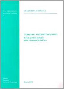Copertina di 'Direito a vivir do Vangelho. Estudo juridico-teologico sobre a sustençao do clero (O)'