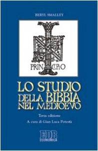Copertina di 'Lo studio della Bibbia nel Medioevo'