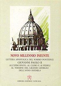 Copertina di 'Novo millennio ineunte. Lettera apostolica del sommo pontefice Giovanni Paolo II all'episcopato, al clero e ai fedeli al termine del grande Giubileo...'