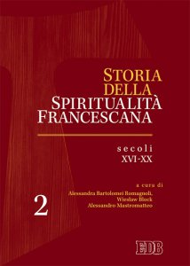 Copertina di 'Storia della spiritualità francescana'