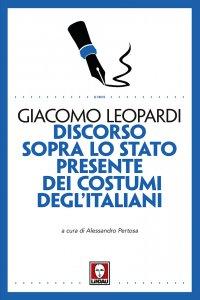 Copertina di 'Discorso sopra lo stato presente dei costumi degl'Italiani'