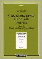 Chiesa cattolica tedesca e Terzo Reich (1933-1934) - Patti Martino