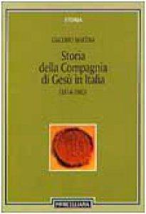 Copertina di 'Storia della Compagnia di Gesù in Italia (1814-1983)'