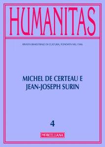 Copertina di 'Humanitas. 4/2016: Michel de Certeau e Jean-Joseph Surin'