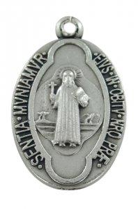 Copertina di 'Medaglia San Benedetto in metallo ossidato - 2,5 cm'