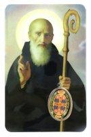 Card San Benedetto in PVC - 5,5 x 8,5 cm - spagnolo