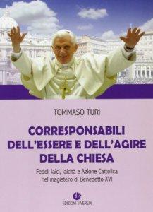 Copertina di 'Corresponsabili dell'essere e dell'agire della Chiesa'