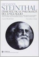 Ermeneutica e psicologia del linguaggio - Heymann Steinthal