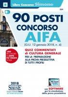 90 posti Concorso AIFA - Redazioni Edizioni Simone