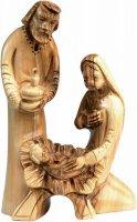 Natività in legno d'ulivo