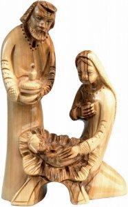 Copertina di 'Natività in legno d'ulivo'