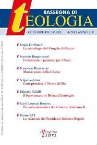 Copertina di 'Rassegna di Teologia n. 4/2013'