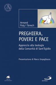 Copertina di 'Preghiera, poveri e pace'