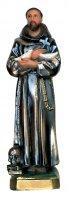 Statua San Francesco in gesso madreperlato cm 20 (dipinta a mano) di  su LibreriadelSanto.it