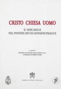 Copertina di 'Cristo, chiesa, uomo'
