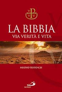 Copertina di 'La Bibbia. Via Verità e Vita (copertina rigida telata)'