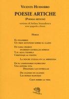 Poesie artiche (Poemas árticos). Testo spagnolo a fronte - Huidobro Vicente