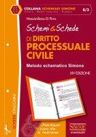 Schemi & Schede di Diritto Processuale Civile - Massimiliano Di Pirro