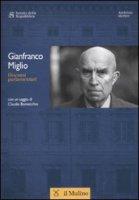 Discorsi parlamentari - Miglio Gianfranco