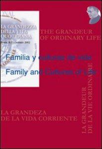 Copertina di 'Familia y culturas de vidaFamily and Cultures of Life'