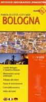 Bologna. Pianta della cittàCity map 1:9.000