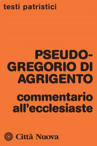 Copertina di 'Commentario all'Ecclesiaste'