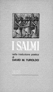 Copertina di 'I Salmi nella traduzione poetica di David Maria Turoldo'