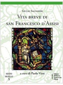Copertina di 'Vita breve di san Francesco d'Assisi'
