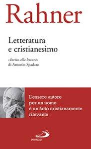 Copertina di 'Letteratura e cristianesimo'