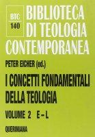 I concetti fondamentali della teologia 2 (E-L ) - Peter Eicher
