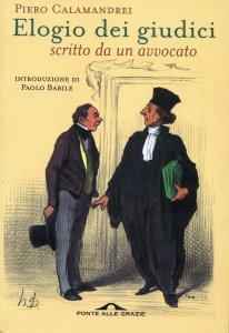 Copertina di 'Elogio dei giudici scritto da un avvocato'