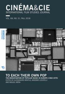 Copertina di 'Cinema & Cie. International film studies journal (2018)'